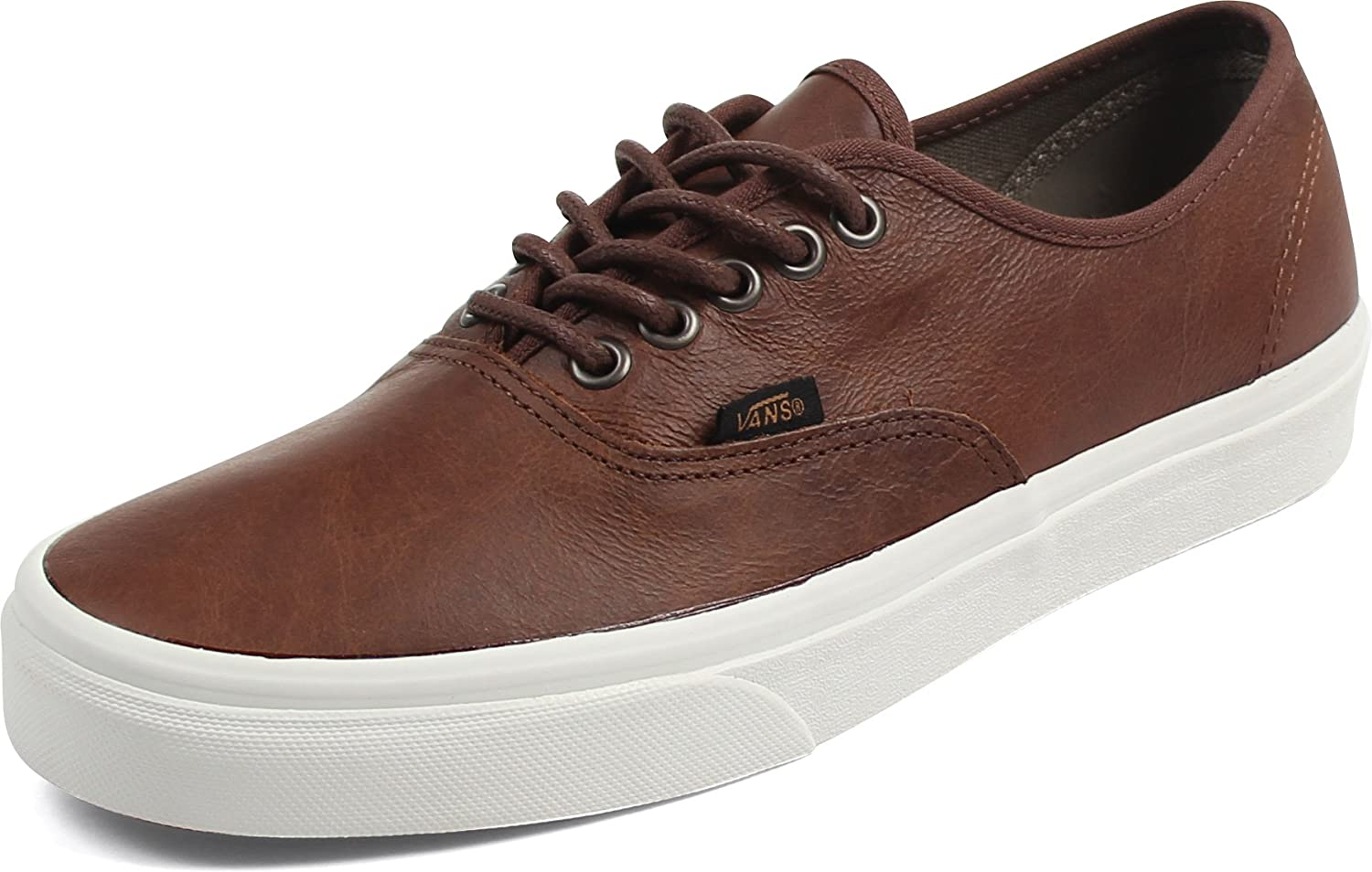 Vans Unisex-Erwachsene Authentic Low-Top  4|(leather) dachs
