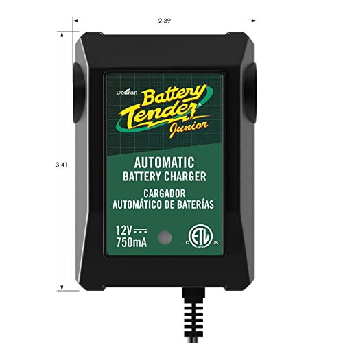 Deltran Battery Tender 021-0123 Junior 12V, 0.75A Battery Charger