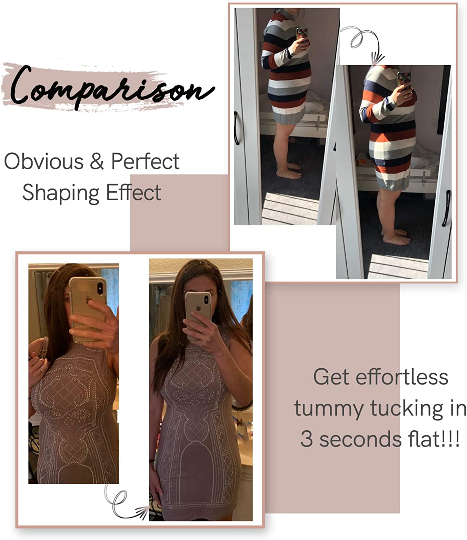 COMFREE Shapewear Body Sculptant Femme Gainant Lingerie Sculptante et Gainante Bodysuit Amincissant