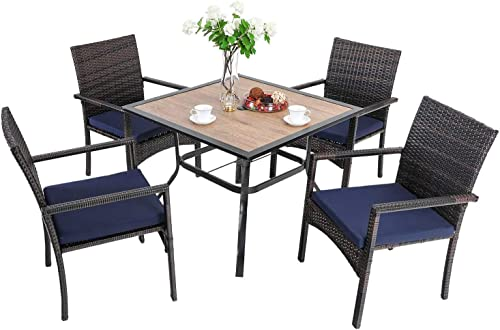 PHI VILLA 5-Piece Patio Dining Set