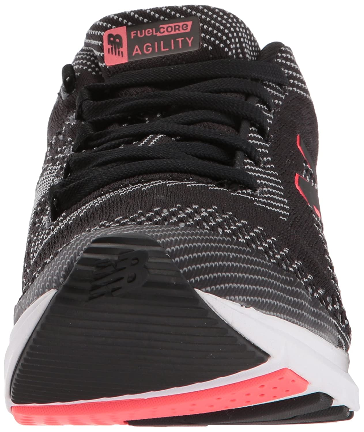 New Balance Women's FuelCore Agility v2 Cross Trainer B06XSD5TM6 5.5 D US|Black/Silver Mink