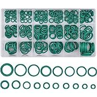 Dokpav O Ringen Kit, 270 Stks 18 Maten Auto Airconditioning Rubber O-Ring Gereedschap, Rubber ringen Assortiment…