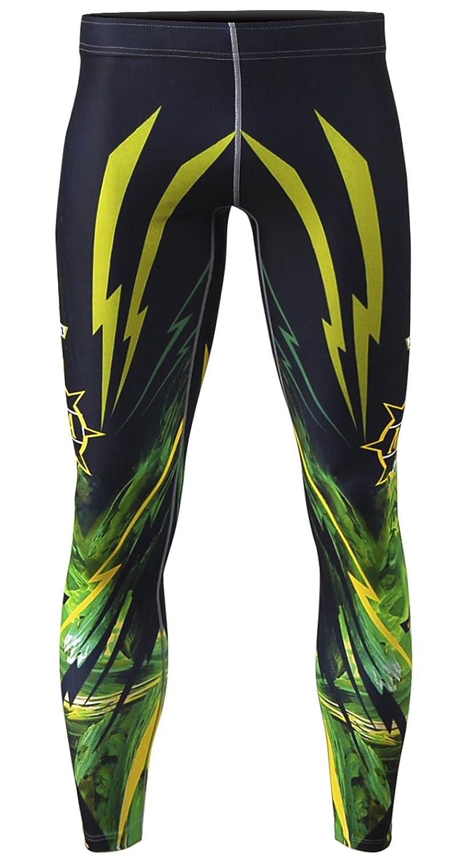 e7dfc4ddf2 zipravs Compression Pants Fitness Crossfit Jiu Jitsu Workout Long Pants  Tights Base Layer: Amazon.co.uk: Clothing