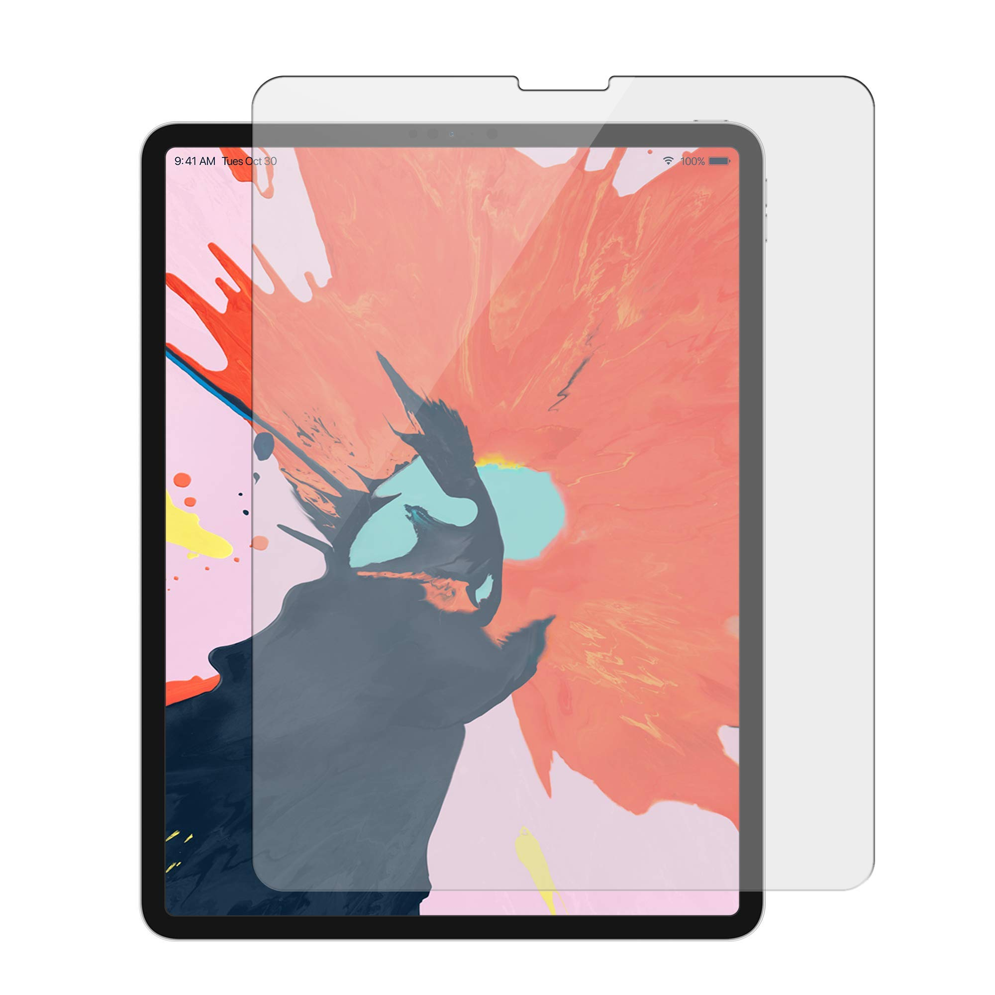 Targus Tempered Glass Screen Protector for iPad Pro 12.9-Inch, Clear (AWV144TGL)