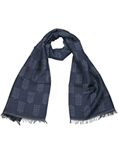 d8f5666f62a TARDIS Scarf - Official BBC Licensed Doctor Who Scarf by LOVARZI - Comes in  a Branded Doctor Who…