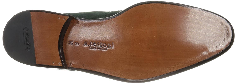 a.testoni Mens M47232gum Chelsea Boot