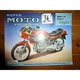 RRMT0079.2 REVUE TECHNIQUE MOTO BMW K75 K75C K75S K75RT 750CM3 avec et sans ABS de 1986 à 1996