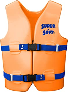 product image for TRC Recreation Kids Super Soft USCG Vest, M - Orange Breeze, New