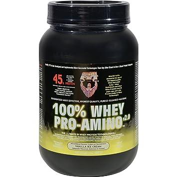 Healthy 'N Fit Nutritionals Whey Pro-Amino Vanilla Ice Cream - 2 lbs