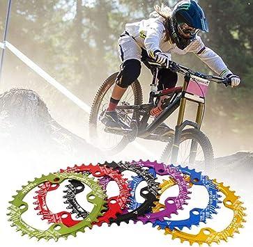 ENticerowts - Plato para Bicicleta de montaña (32/34 / 36 / 38T ...