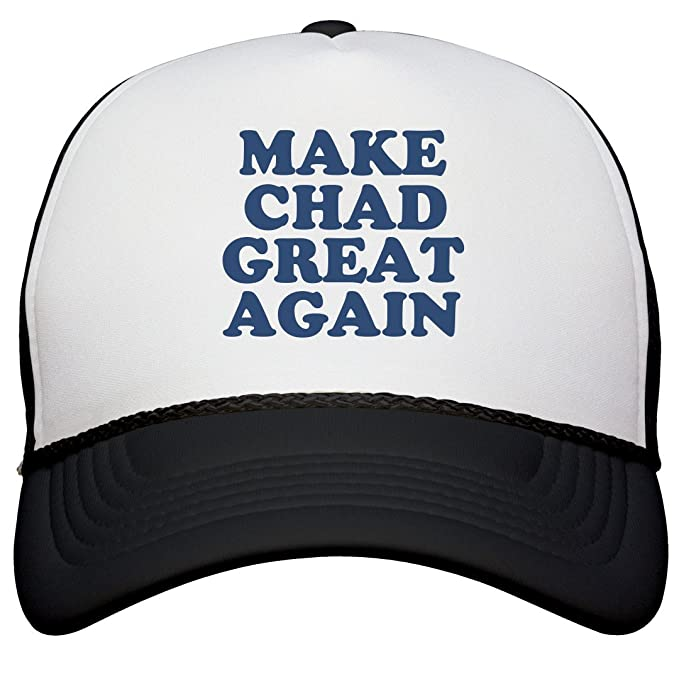 8798d0c2606e8 Amazon.com  FUNNYSHIRTS.ORG Make Chad Great Again Hat  Snapback ...