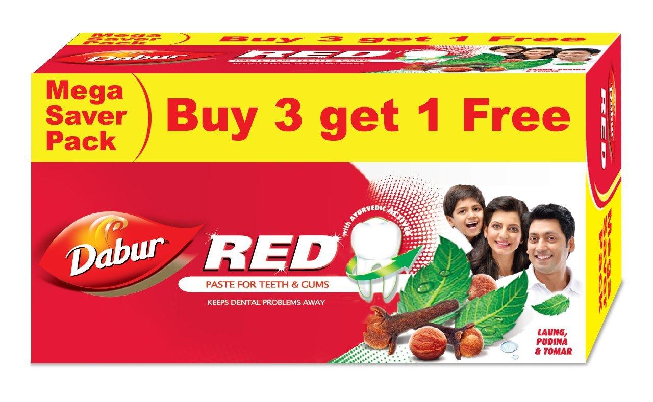 Dabur Red Paste, 150g (Buy 3 Get 1 Free) product image