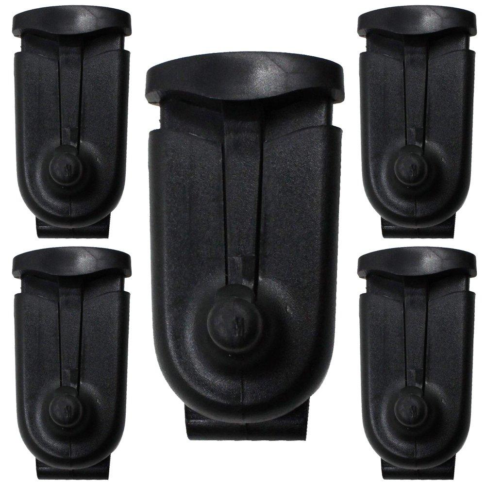 AOER Replacement Swivel Belt clip for Walkie Talkie Two Way Radio Motoro Talkabout T6200 T5728 T5428 T6200 T5728 T9000 T289 SX750 Pack of 5