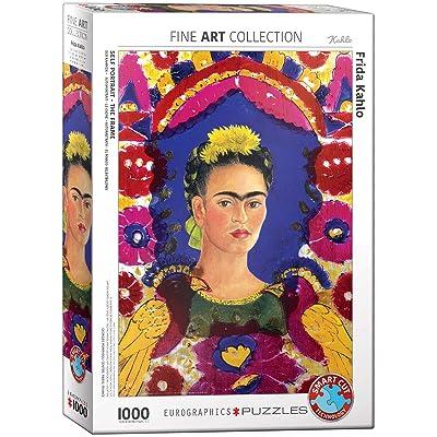 EuroGraphics 5425 Frida Portrait Puzzle (1000 Piece): Toys & Games