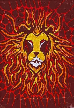 Amazon Com Leyiyi 6x9ft Cartoon Happy Halloween Backdrop Lion Face