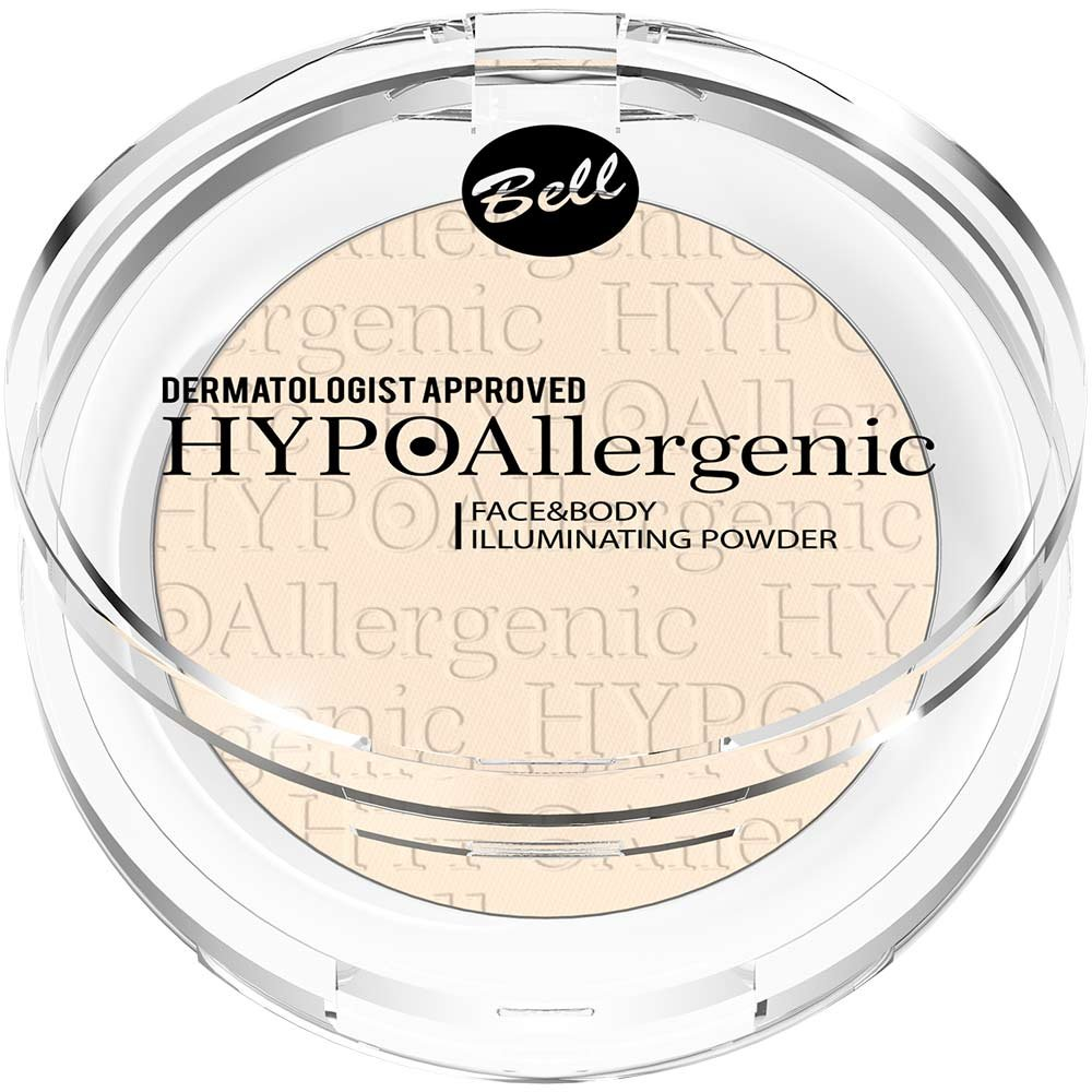 Bell Hypoallergenic Face and Body Illuminating Powder 7g Highlighter Bell / Poland