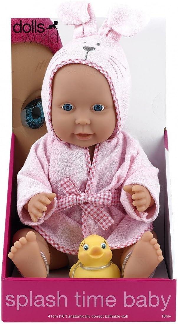Dolls World Bambolotto da Bagnetto 41 cm, 8552