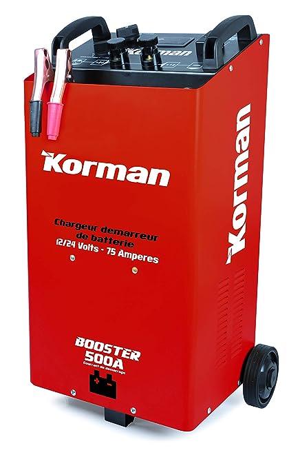 Amazon.es: Korman - arrancador/Cargador de batería 75A ...