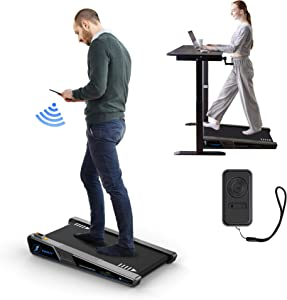 Egofit Walker Pro Small Under Desk Electric Treadmill Walking Machine, with LED Screen, Compact Fit Desk Exerciser