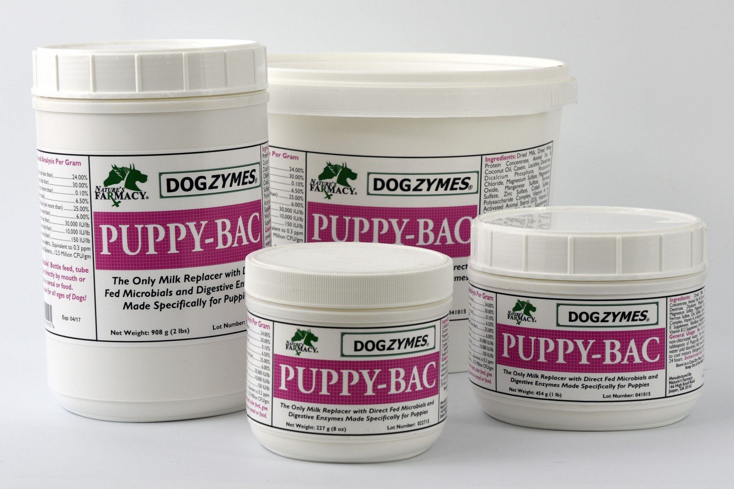 DOGZYMES Puppy Bac 8 Ounce