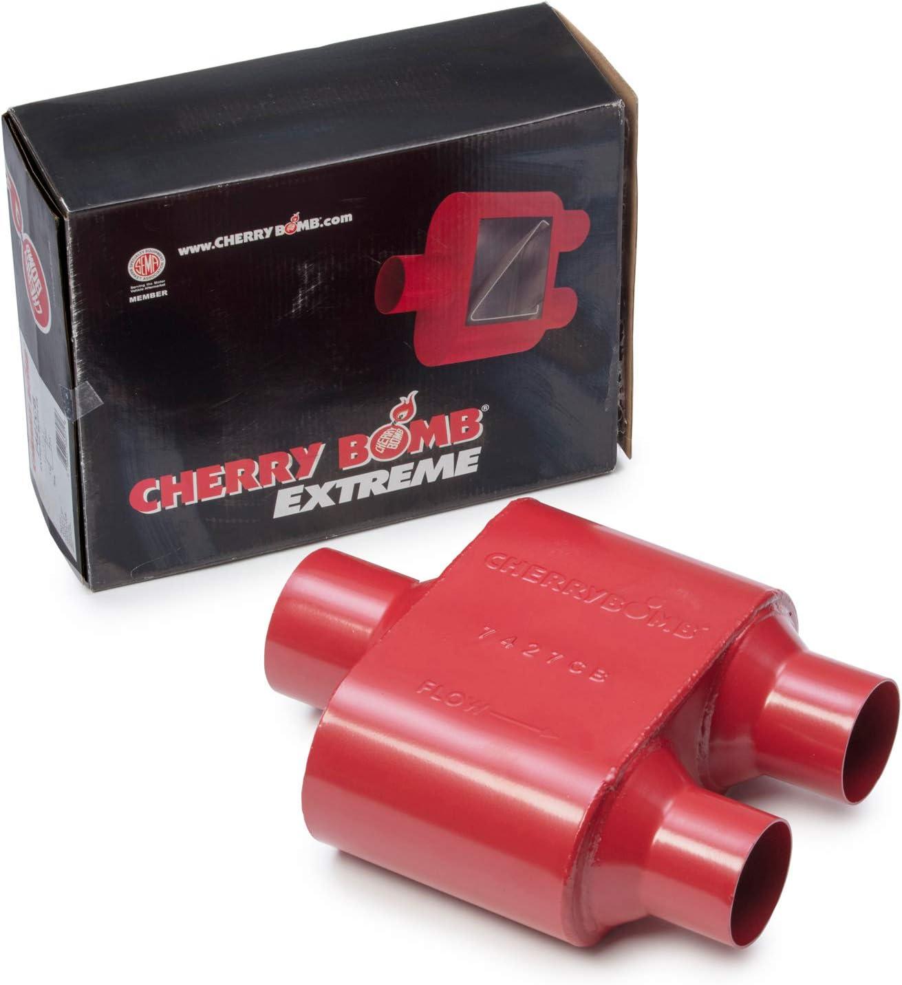 "04-08 Dodge Ram 1500 2.5/"" Dual Exhaust Cherry Bomb Extreme Side Exit"