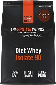 Proteína Whey Diet Isolate 90 | Sabor chocolate | 2 kg de Aislado de proteína Whey