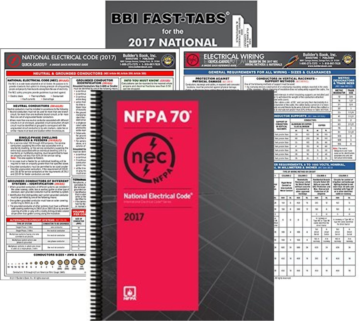 Amazon.com: NFPA 70 2017: National Electrical Code, NEC, Spiralbound ...