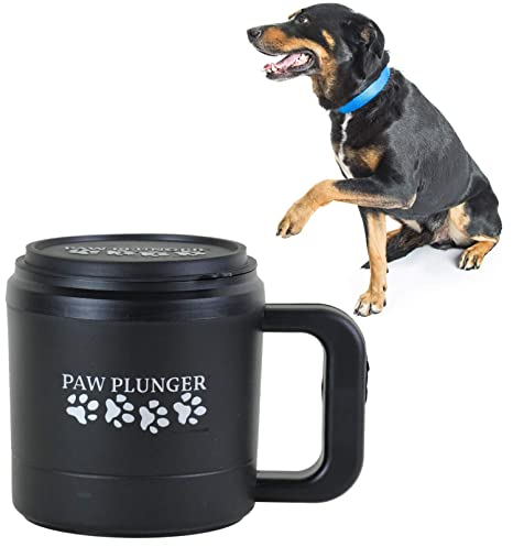 a0bdfc00f79 Paw Plunger for Dogs - Portable Dog Paw Cleaner for Muddy Paws – This Paw  Washer for Dogs Saves Floors