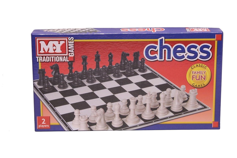KT Mi Juego Juegos Tradicionales plástico Tablero de ajedrez ...