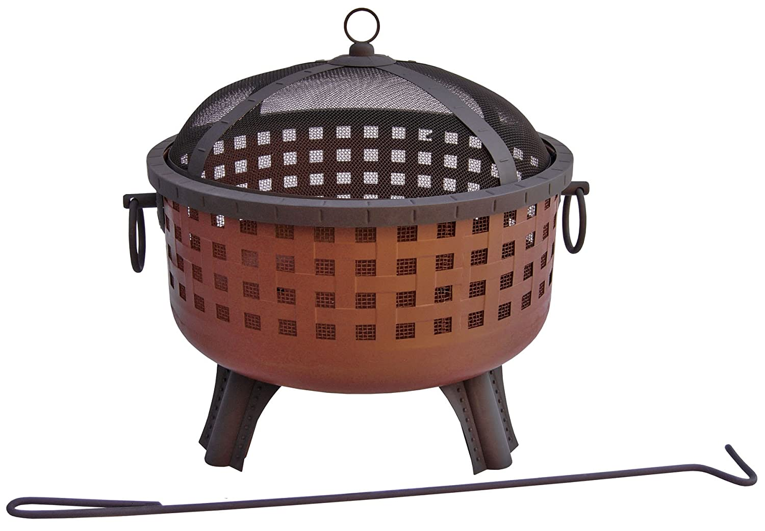 amazon com landmann 26360 garden lights savannah firepit antique