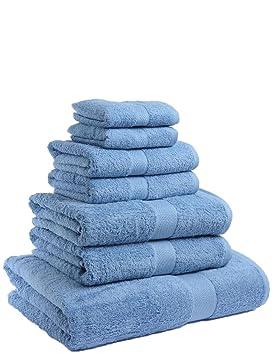 Juego de toallas de baño 100% algodón resistentes a al decoloració