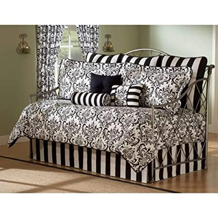 Amazon.com: Daybed Comforter Set 10 Piece Bedding Black White Bed