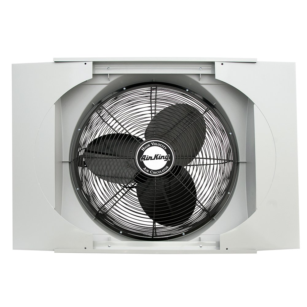 Air King 9166F 20'' Whole House Window Fan by Air King
