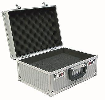 Viso STC900P - Maletín (aluminio, interior con espuma troquelada)