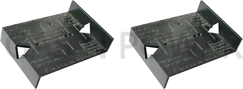 Free P/&P Plantilla para montaje de placas y bisagras