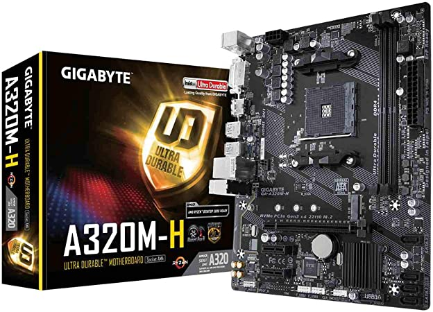 Gigabyte Ga A320m H Motherboard Socket Am4 A320 Ddr4 Computers Accessories