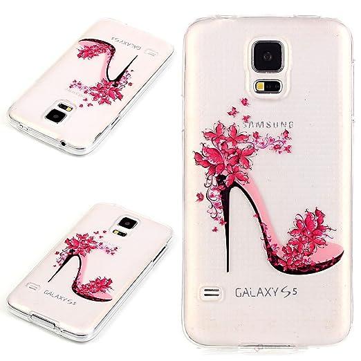18 opinioni per Beiuns Custodia in TPU per Samsung Galaxy S5 (5,1 pollici) silicone morbido