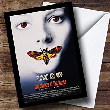 Spoof The Exorcist Movie Film Poster Birthday Customised Card
