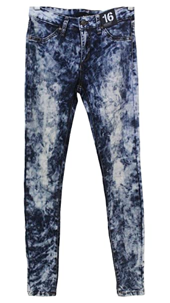 fb69a280629cf Joe s Jeans Girls Tween Ken Jegging Ultra Slim Fit (Acid Wash Tie Dye- Mack