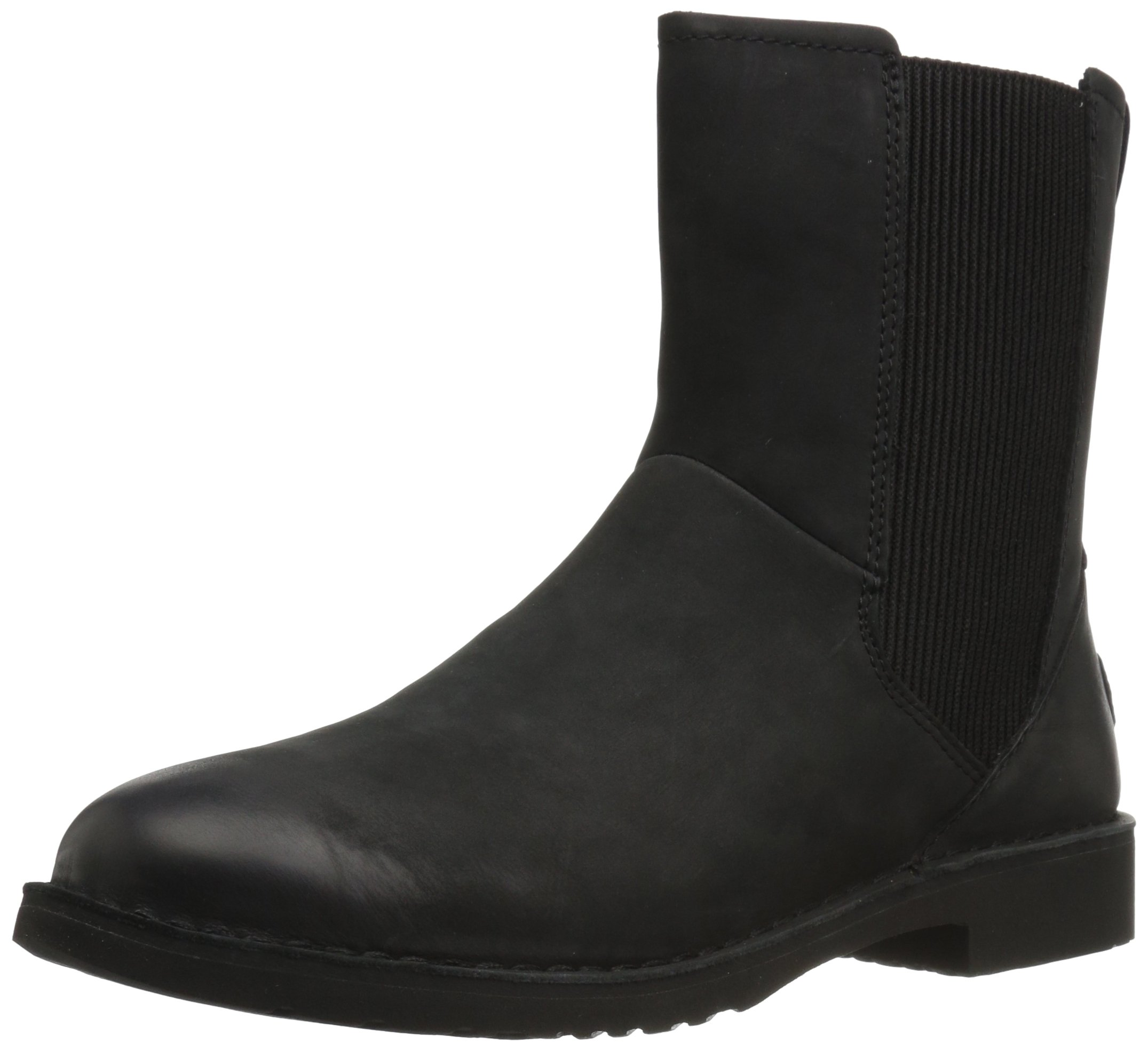 UGG Women's Larra Snow Boot, Black, 8 M US