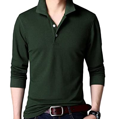 Abetteric Mens Long Sleeve Flexible Fit Pullover Thicken Sweater