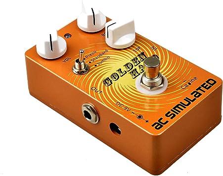 Caline CP-35 - Pedal simulador acústico para efectos de guitarra ...