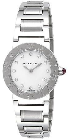 63b8b1c24985 [ブルガリ]BVLGARI 腕時計 ブルガリブルガリ ホワイトパール文字盤 BBL26WSS/12 レディース 【