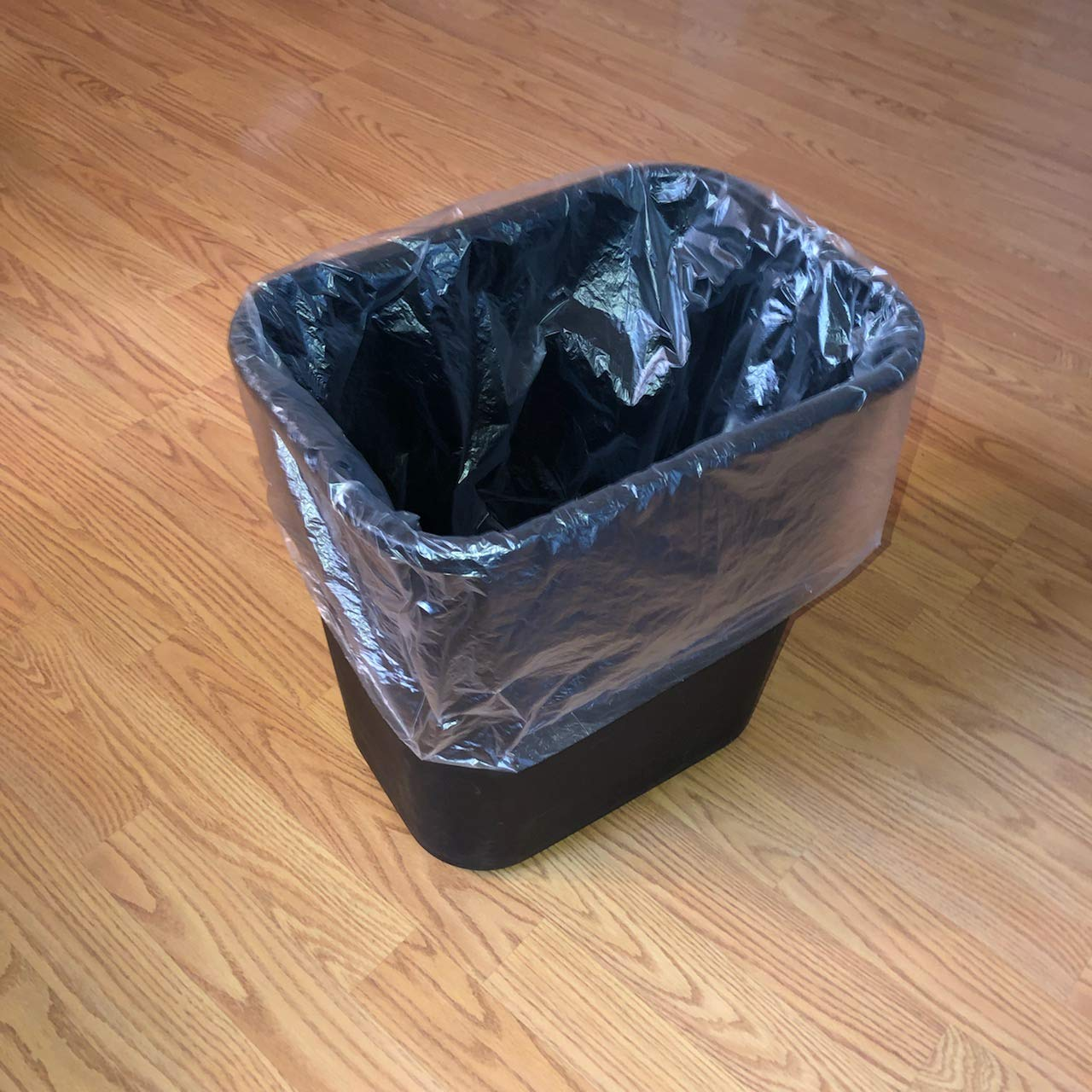 10 Gallon Size Wastebasket Bags 9 Gallon Sizes 250 Small Trash CAN Liners for Small WASTEBASKETS 250 Clear Trash Bags 7 2 Rolls of 125 Bags PER ROLL. Also FITS 6 8