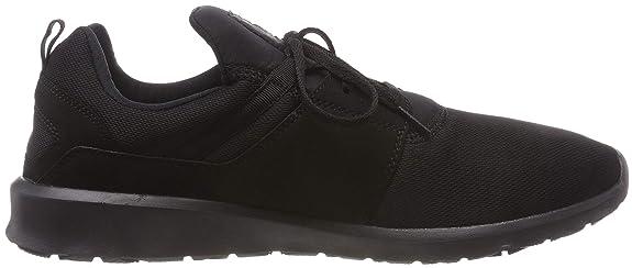 Amazon.com | DC Shoes Heathrow Black Mens Trainers Size 10.5 UK | Basketball