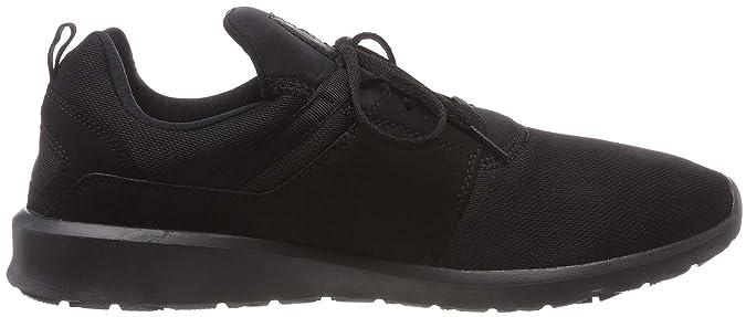 Amazon.com   DC Shoes Mens Heathrow Black Mesh Trainers 9 US   Road Running
