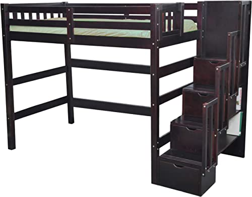 SCANICA Staircase Twin Loft Bed