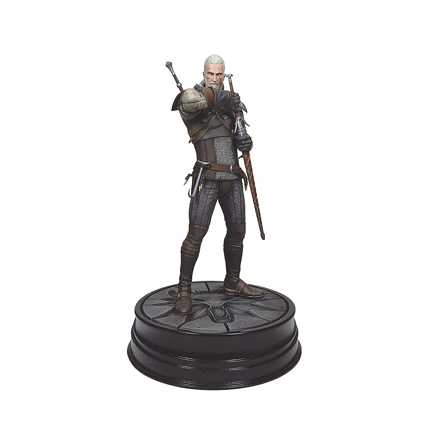 Dark Horse Deluxe The Witcher 3: Wild Hunt: Geralt Figure Toy Figures at amazon