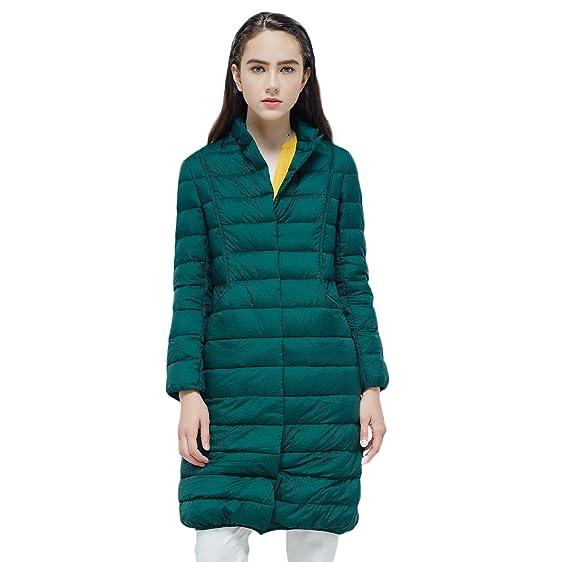 Amazon.com: BOSIDENG Women's Winter Goose Down Jacket Light ...