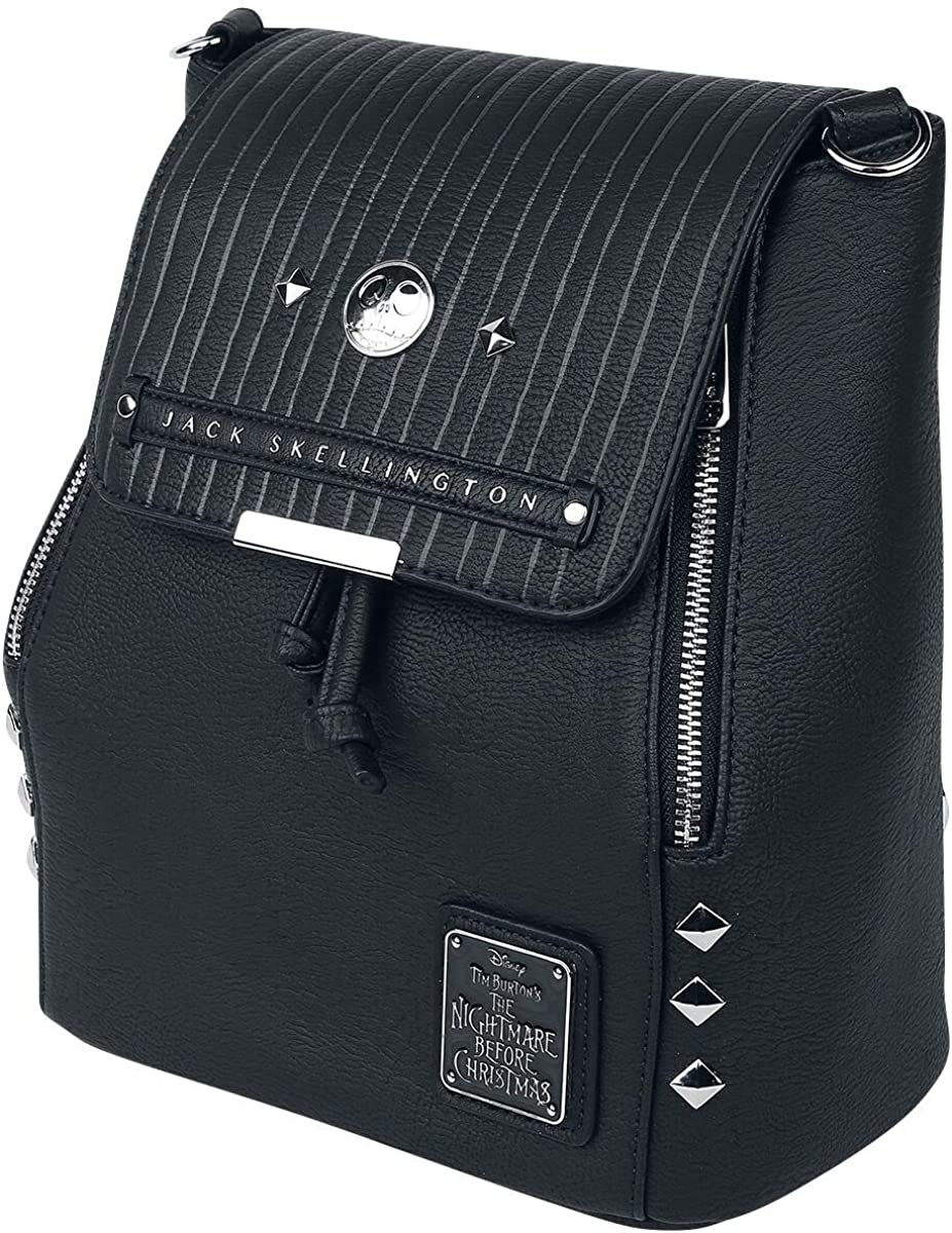 Loungefly X Nightmare Before Christmas Jack Skellington Mini sac /à dos convertible